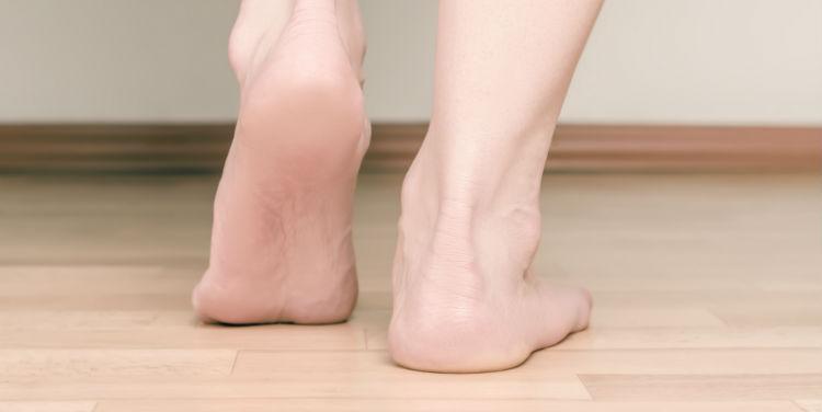 flat feet vs fallen arches